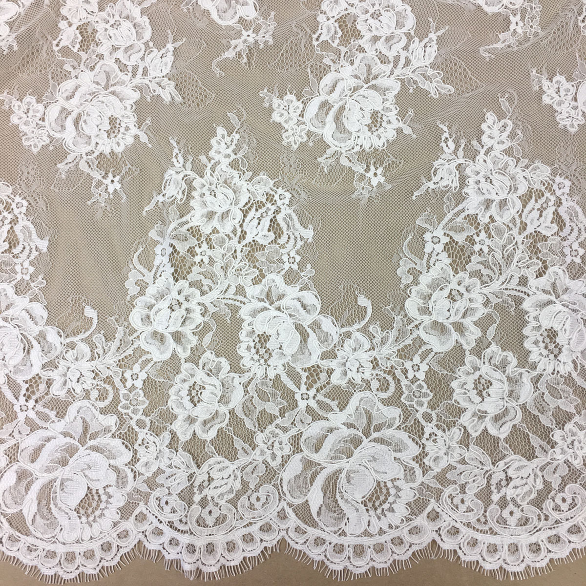 ICEBURG-ROSE BRIDAL LACE