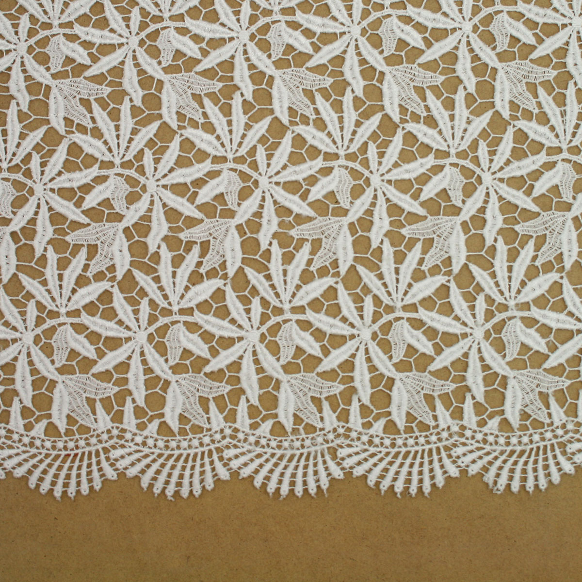 Ivory Guipure Lace